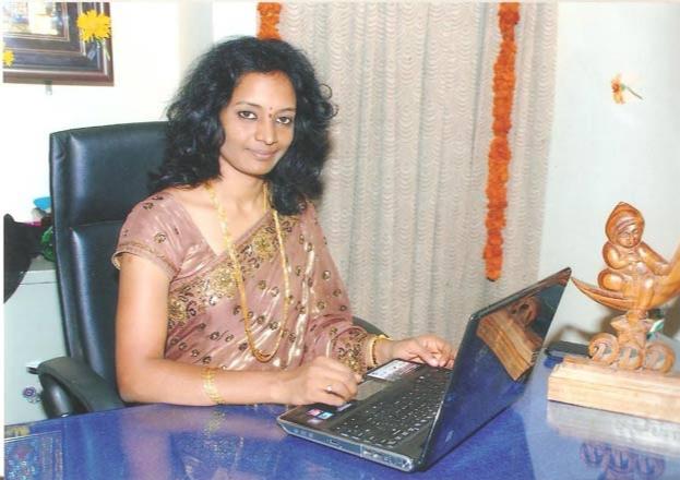 An Entrepreneur - She founded a company called GS Digital Dream Designer Pvt. Ltd