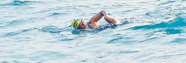 Swimming Across The Palk Strait