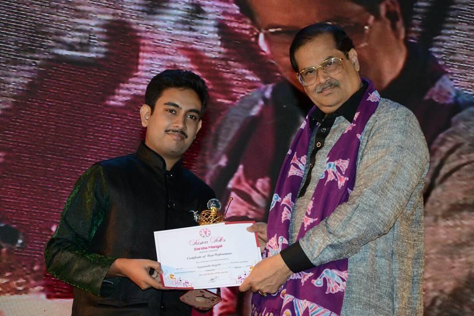 He stood second in the prestigious music competition organized by Chetla Murari Smriti Sangeet Sammilani in 2019