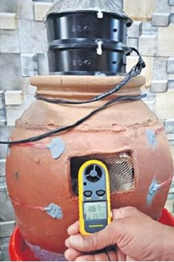 Jogu Pramod's pocket-friendly and eco-friendly air cooler