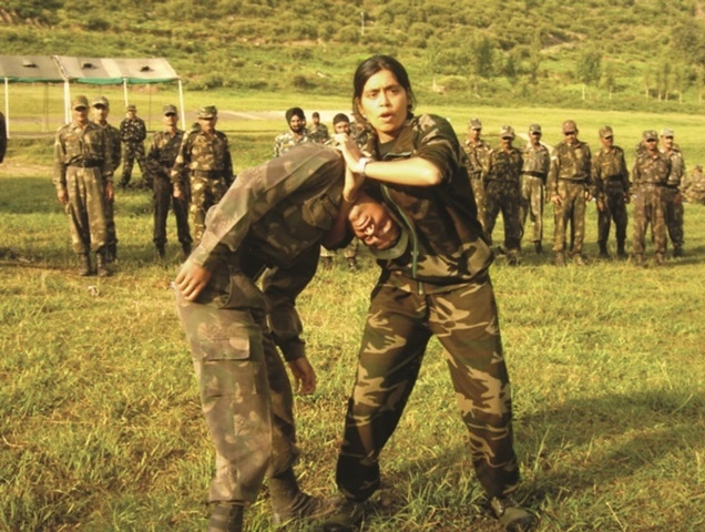 Seema, the only woman commando trainer of India