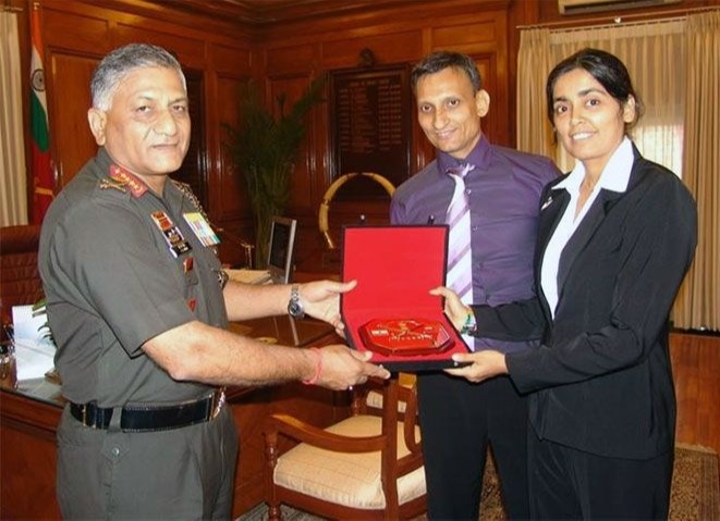 Seema has also received three Army Chief Citations - a commendable record