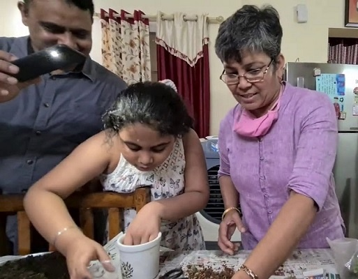 She started her own experimentation and the final result was Amrut Mitti