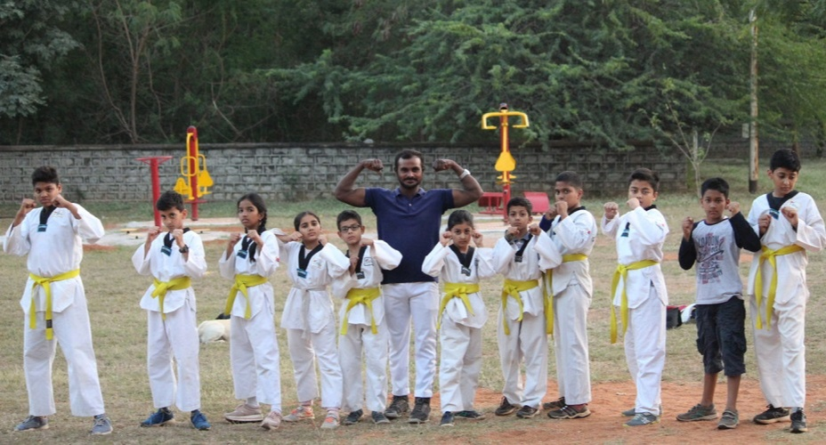 Santosh thus strongly felt that it is important to make people strong so they can defend themselves