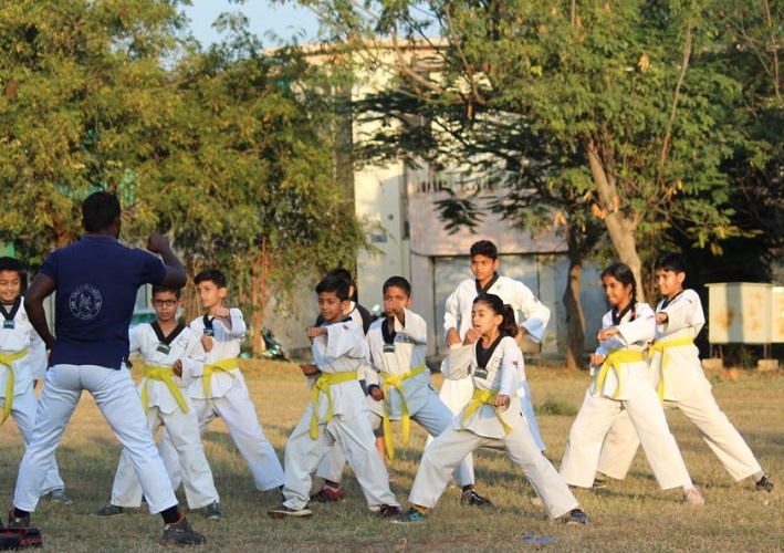 Santosh has organised over 80 sessions with each session being attended by over 50-70 girls
