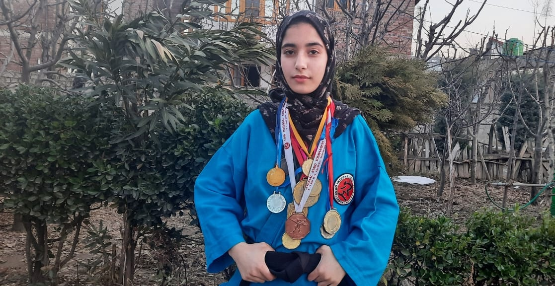 Pakeeza advises girls and women to take up martial arts in order to protect themselves