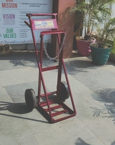 Rajat Kumar Panigrahi, the Director of ITI, has come up with an oxygen cylinder stroller that is now saving time and lives