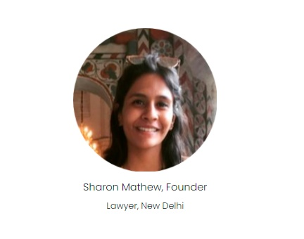 Sharon Mathew's website educates people about their rights and procedures as mentioned by the central and state governments