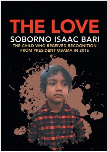 Soborno Penned a book titled - The Love - the main idea behind which is to advocate peace and happiness