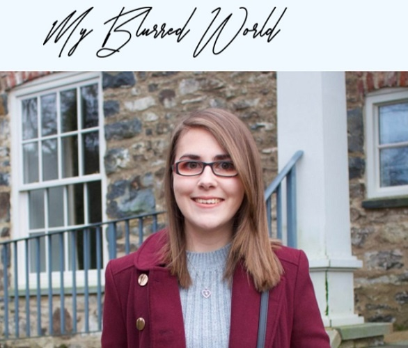 To Share The Pain And To Give Confidence - Elin started a blog named - My Blurred Vision - in 2015