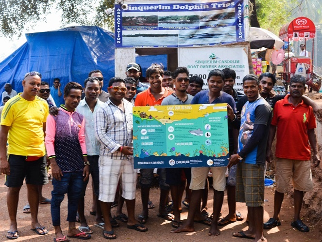 Puja's boatmen have been prepared and sharpened to combat the challenges Goa faces and the magnitude of Terra Conscious exertions