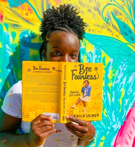 Mikaila Ulmer first book - Bee Fearless, Dream Like a Kid, published by Penguin Random House and launched in August 2020
