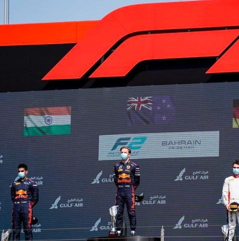 Jehan Daruvala is the first Indian to win a Formula 2 race