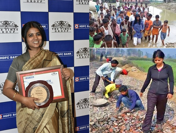 How can basic electricity, toilets, education be deprived. This lady transforms a village in Bihar