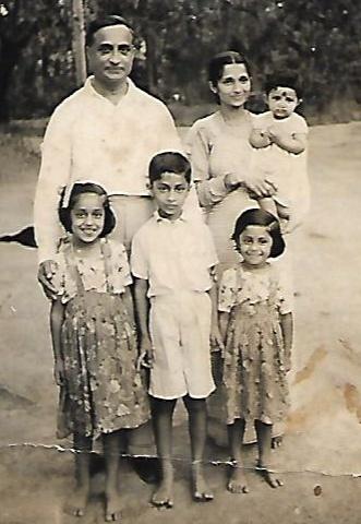 Kavery Nambisan Family