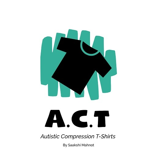 Saakshi Mahnot founded the project, Autistic Compression Tshirt