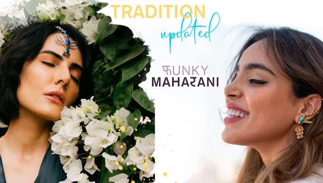 Maang Tikka Tradition Updated by Punky Maharani