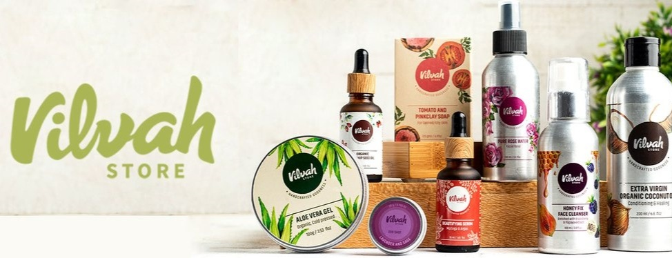Vilvah, an online cosmetic brand that's giving solutions to skin problems since its inception in 2017