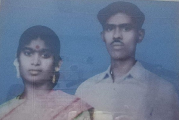Vidya Anthony Mother and Father