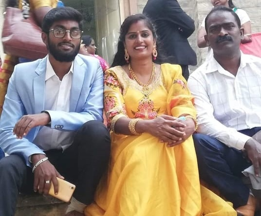 Vidya Anthony Family