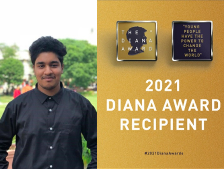 Diana Awardee Bengaluru boy is geared to solve social concerns with technology. A BITS grad
