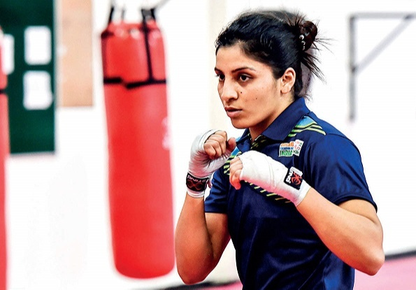 Simranjit Kaur became the first girl from Punjab to participate in the Olympics
