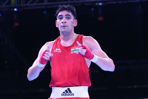 Ashish Kumar secured his ticket to the Tokyo Olympics by reaching the semi-finals at the 2020 Asia and Oceania Boxing Olympic Qualification Tournament
