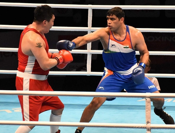 Satish Kumar stood as the first Indian boxer for having qualified for the Olympics in the super heavyweight category