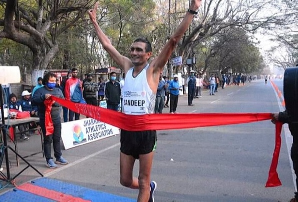 Sandeep Kumar will represent India in the 20Km individual Race Walking in the upcoming Tokyo Olympics