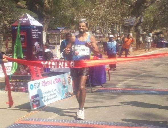 The 38 yo Gurpreet Singh  - army man from Patiala makes the cut off for the Tokyo Olympics