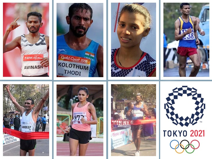 Indian walkers at the Tokyo Olympics hopeful of walking away a medal