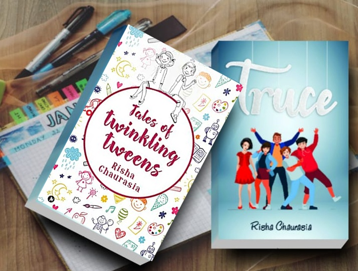 Teen writing for Tweens. Tales Of Twinkling Tweens was her first novel at 9