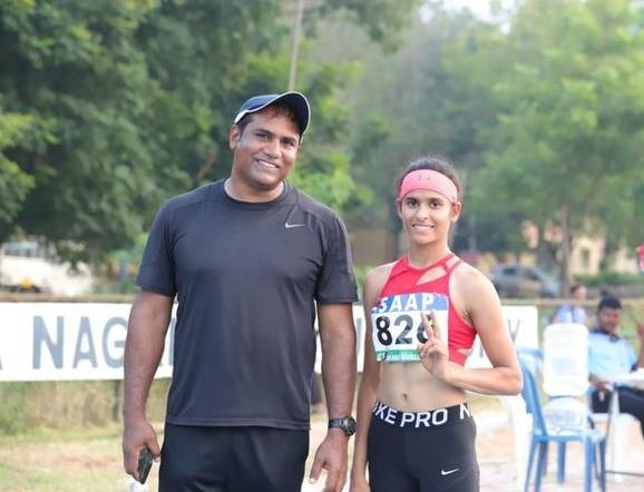 17 years old, Shaili has been proving her potential and has been breaking national records