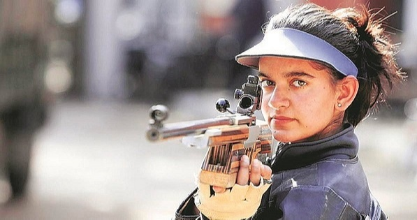 This brilliant shooter  Anjum Moudgil competes in the Tokyo Olympics under the 10m Women's Air Rifle category