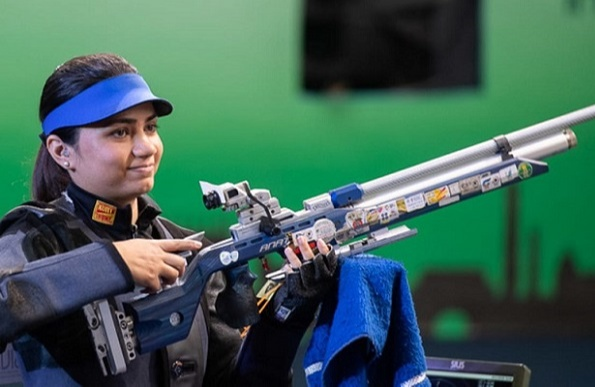 Apurvi Chandela secured a quota spot to participate in the Tokyo Olympics under the 10m Women's Air Rifle category