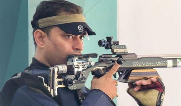 Sanjeev Rajput obtained a quota for the 2020 Tokyo Olympics. In the 50m Mens Rifle 3 Position, he will represent India in the Olympic