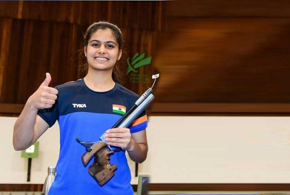 In all the 4 Pistol & Rifle ISSF World Cups held in 2019, Manu won the Gold medal in the 10m air pistol mixed event with Saurabh Chaudhry