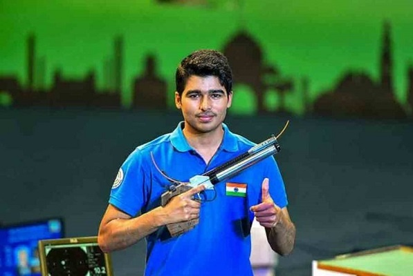Saurabh Chaudhary who will represent India in the 10m Men's Air Pistol category at the 2020 Tokyo Olympics
