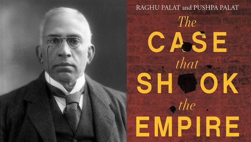 The case that shook the empire - written by Nair's great-grandson Raghu Palat and his wife Pushpa Palat in 2019