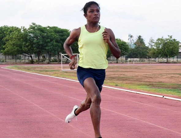 She has been training for the Olympics from the Netaji Subhas National Institute of Sports for the past two years