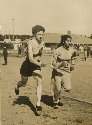 Mary D'souza became a part of the Bombay team and was the youngest in the relay team that won nationals