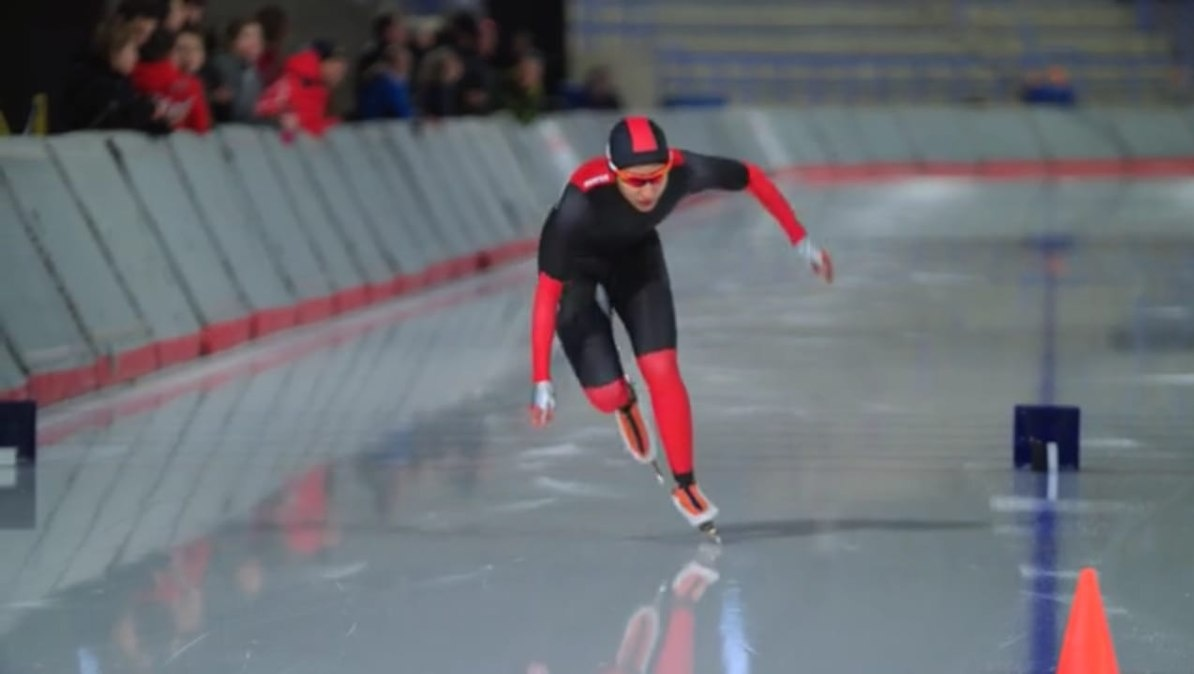 First woman Indian Ice Speed Skater is working hard to reach the Winter Olympics