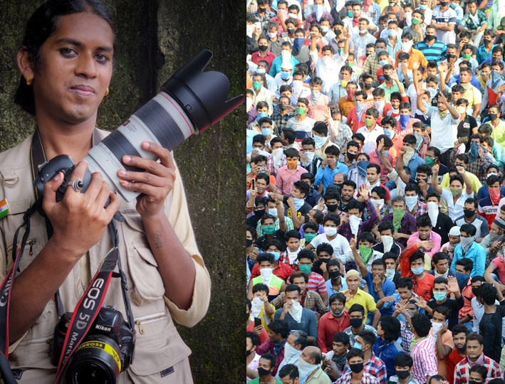 Trans photojournalist says Educate them instead of letting them beg in local trains