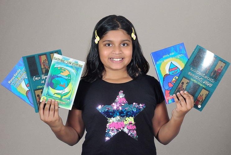 This Bangalore's tween is already a poet, an author, an illustrator, and an environment influencer. Bagged several awards just at 9