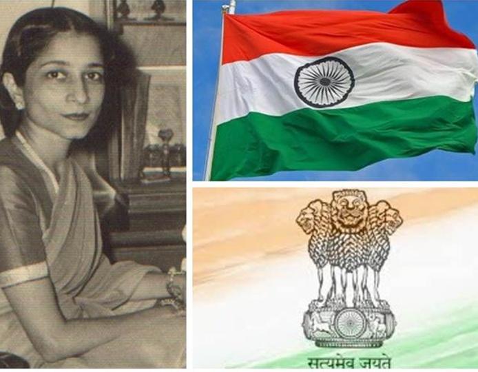 Indian flag designer never got credit for it the real designer - Surayya Tyabji