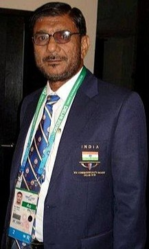 Dronacharya Awardee coach RD Singh spotted Jhajharia's talent while he competed at a school sports day and encouraged him to take up the sport seriously