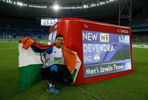 Devendra recorded a distance of 65.71m, bettering his own world record throw of 63.97m thus qualifying for the Tokyo Paralympics