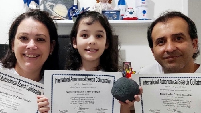 Nicole Oliviera cleared the exam conducted by CEAAL and became the youngest to achieve the feat