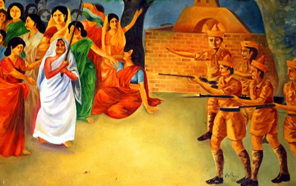 This is the story of India's one of the greatest yet forgotten freedom fighters, Matangini Hazra