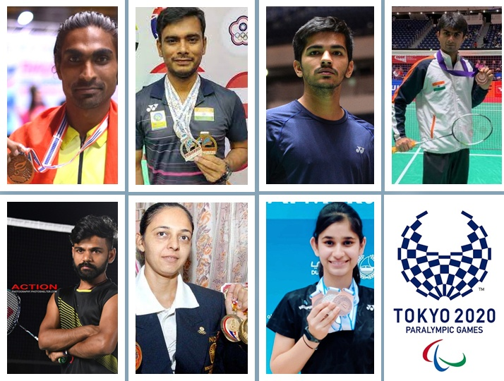 In the debut in Badminton Paralympics, India is sending five male and two female badminton players to the world stage